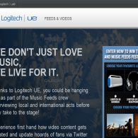 Win a Logitech UE & Music Feeds Festival Experience!