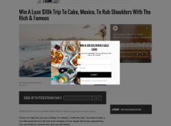 Win A Luxe $10k Trip To Cabo, Mexico