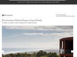 Win a Luxurious Weekend Escape to Cape Schanck