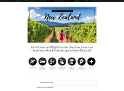 Win a luxurious wine & food escape to New Zealand