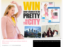 Win a luxury trip for you and your bestie to Melbourne