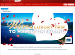Win a luxury trip to Hamilton Island!