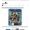 Win a Marvel's Black Panther Prize Pack