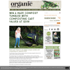 Win a Maze compost tumbler with composting cart
