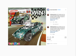 Win a Meccano Roadster model set!