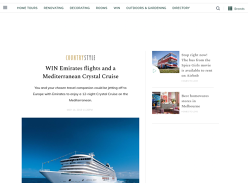 Win a Mediterranean Cruise +Emirates Flights