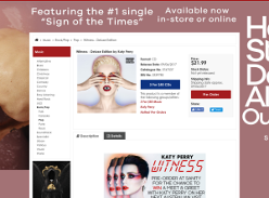 Win a meet & greet with Katy Perry on her next Australian visit! (Purchase Required)