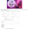 Win a meet & greet with Kylie Minogue