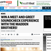 Win a Meet and Greet with The Madden Brothers