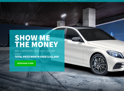 Win a Mercedes-AMG C43 + $40,000 Cash