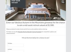 Win a mid-week retreat