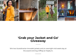 Win a Midweek Stay at Clifftop at Hepburn & Two Anorakki Jackets