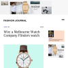Win a modern rose Flinders watch