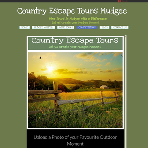 Win a Mudgee Weekend Getaway for you and 5 of your mates