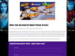 Win a Nerf blasters prize pack