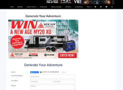 Win a New Age MY20 XU Caravan!