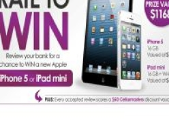 Win a new Apple iPhone or iPad Mini