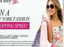 Win a New York Fashion Shopping Spree