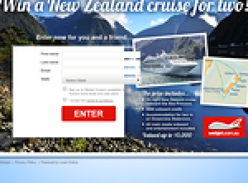 Win a New Zealand cruise for 2!