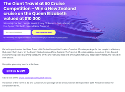 Win a New Zealand Cruise for 2