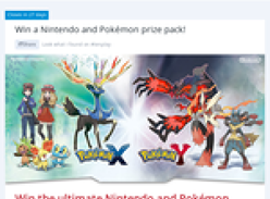 Win a Nintendo & Pokemon prize pack!
