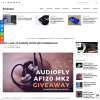 Win a Pair of Audiofly AF120 Hybrid In-Ear Monitors Worth $299.99