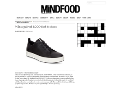 Win a pair of ECCO Soft 8 shoes