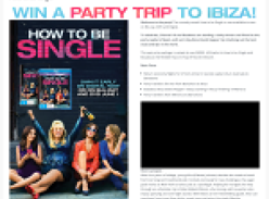 Win a party trip to Ibiza!