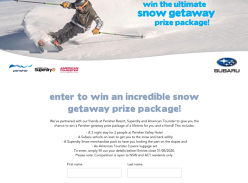 Win a Perisher Getaway for 2
