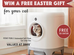 Win A Petkit Automatic Cat Litter Box