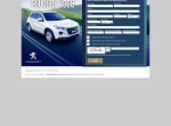 Win a Peugeot 4008!