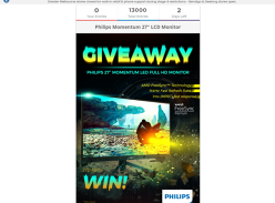 Win a Philips 27