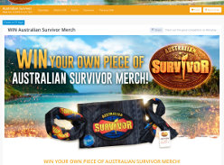 Win a piece of Australian Survivor merchandise