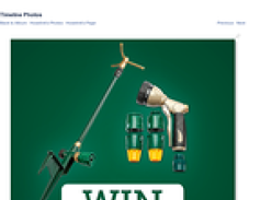 Win a Premium Ned Kelly Starter Kit & Whirly Spike Sprinkler