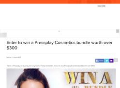 Win a Pressplay Cosmetics bundle