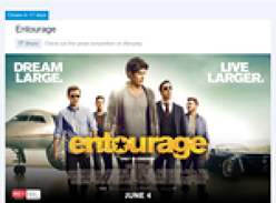 Win a private screening of 'Entourage' for you & 25 of your friends!