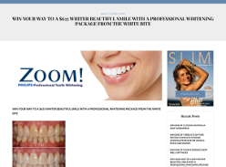 Win a Professional Whitening Package The White Bite