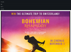 Win a Queen themed trip to Switzerland