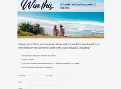 Win a Queensland escape for 2!