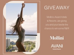 Win a R&R Getaway with Mollini