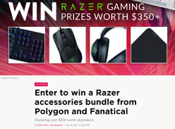 Win a Razer Accessories Bundle