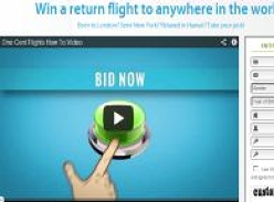 Win a return flight to anywhere in the world!