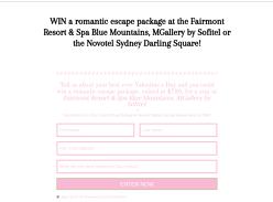 Win a romantic escape package!