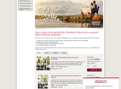 Win a romantic Spicers getaway, premium wines & glassware! (Requires Purchase)