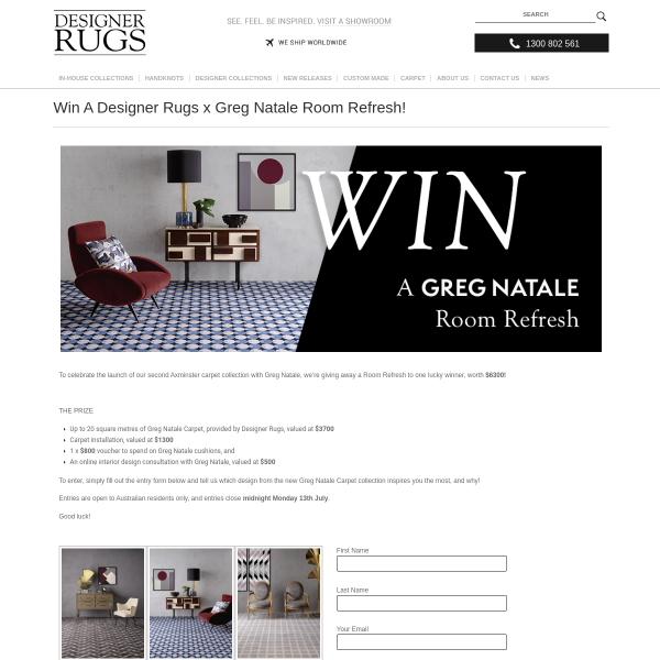 Win a Room Refresh