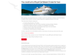 Win a Royal Caribbean Cruise for 2!