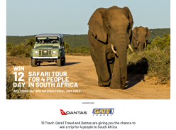 Win a Safari Tour in South Africa for 4