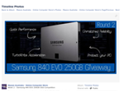 Win a Samsung 840 EVO 250GB hard drive!