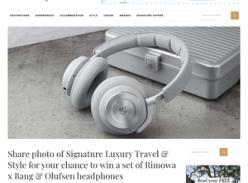 Win a set of Rimowa x Bang & Olufsen headphones!