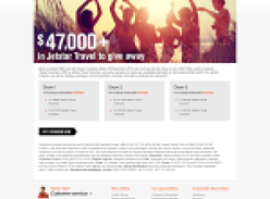 Win a share in over $47,000 worth of Jetstar travel!